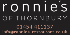 Ronnie's of Thornbury 01454 411137