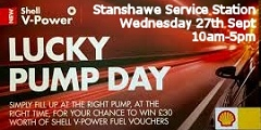 Stanshawe Service Station Lucky Pump Day September 2017